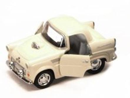1955 Ford Thunderbird, Ivory - Kinsmart 4022D - 4Diecast Model Toy Car (Brand New, but NOT IN BOX)