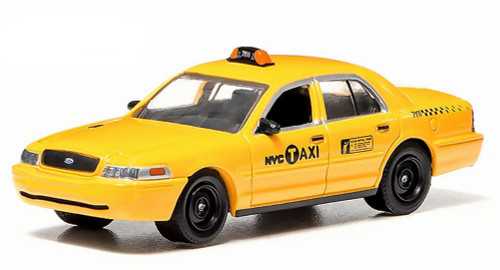 2011 Ford Crown Victoria NYC Taxi Cab, Yellow - Greenlight 29773 - 1/64 Scale Diecast Model Toy Car