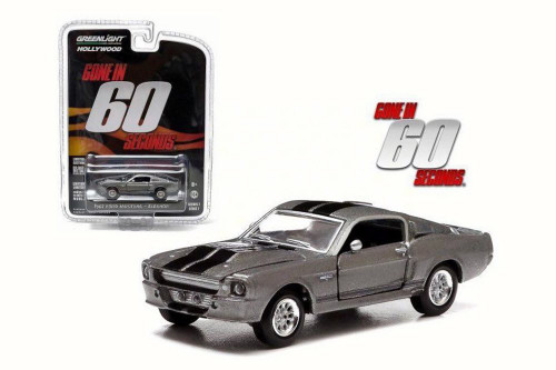 1967 Eleanor Custom Ford Mustang Gone in 60 seconds, Gray - Greenlight 44742 - 1/64 Scale Diecast Model Toy Car