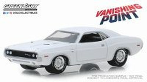 1970 Dodge Challenger R/T, Vanishing Point - Greenlight 44820/48 - 1/64 scale Diecast Model Toy Car