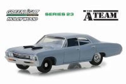 1967 Chevy Impala Sedan, The A-Team - Greenlight 44830D/48 - 1/64 Scale Diecast Model Toy Car