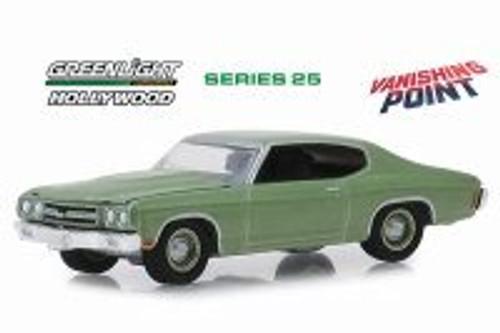 1970 Chevy Chevelle, Vanishing Point - Vanishing Pointlight 44850B/48 - 1/64 scale Diecast Model Toy Car
