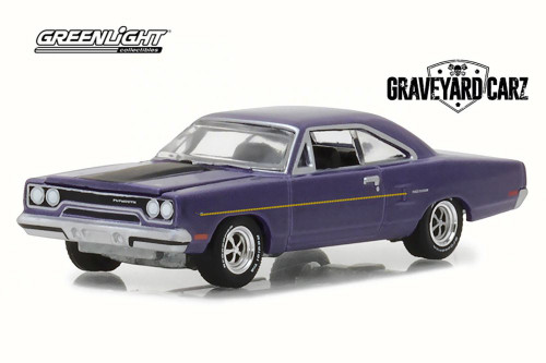 1970 Plymouth Road Runner, Graveyard Carz - Greenlight 44800/48 - 1/64 Scale Diecast Model Toy Car