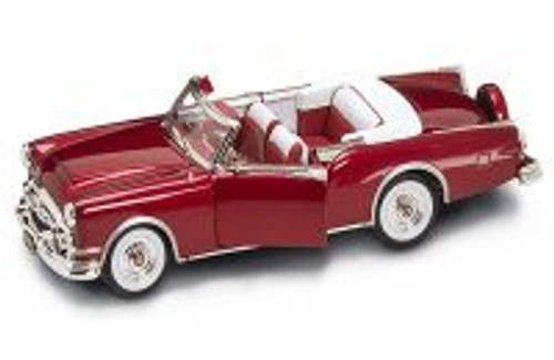 1953 Packard Caribbean Convertible, Red - Yatming 92798 - 1/18 Scale Diecast Model Toy Car