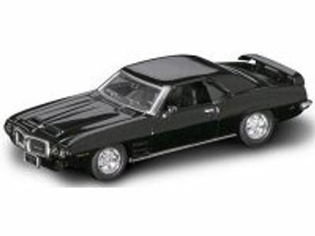 1969 Pontiac Firebird Trans Am, Black - Road Signature 94238 - 1/43 Scale Diecast Model Toy Car