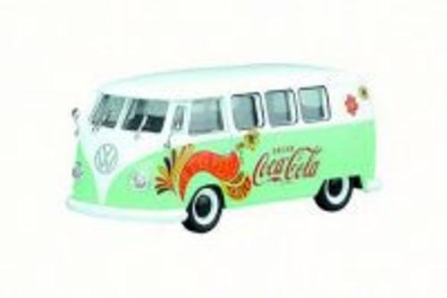 1959 Volkswagen T1 Samba Bus/Combi, Green/White - Motorcity Classics 478064 - 1/43 Scale Diecast Model Toy Car