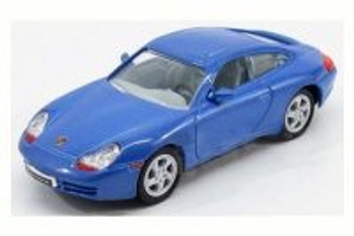 1998 Porsche 911 Carrera, Blue - Road Signature 94221 - 1/43 Scale Diecast Model Toy Car
