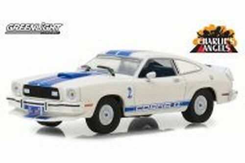 1976 Ford Mustang II Cobra II, Charlie's Angels - Greenlight 86516 - 1/43 Scale Diecast Model Toy Car