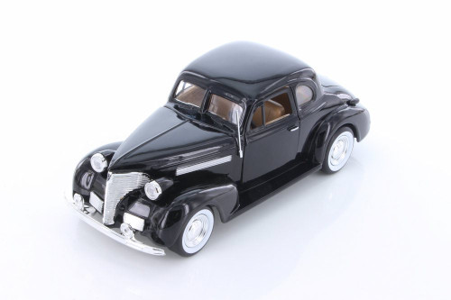 1939 Chevy Coupe, Black - Showcasts 73247 - 1/24 scale Diecast Model Toy Car