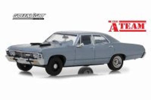 Chevy Impala Sedan Hard Top, The A-Team - Greenlight 86527 - 1/43 scale Diecast Model Toy Car