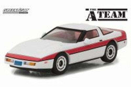1984 Chevy Corvette C4 Hard Top, The A-Team - Greenlight 86517 - 1/43 scale Diecast Model Toy Car