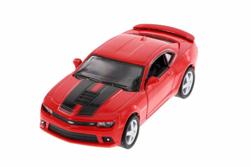 2014 Chevrolet Camaro, Red - Kinsmart 5383DF - 1/38 Scale Diecast Model Toy Car (Brand New, but NOT IN BOX)