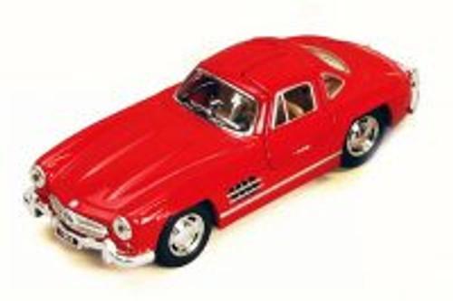 1954 Mercedes-Benz 300SL, Red - Kinsmart 5346WR - 1/36 Scale Diecast Model Toy Car