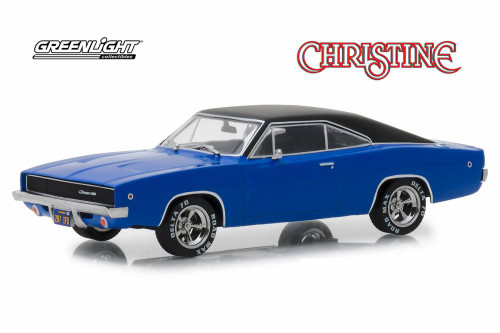 1968 Dodge Charger Hard Top, Christine - Greenlight 86531 - 1/43 scale Diecast Model Toy Car