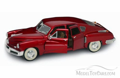 1948 Tucker Torpedo, Red - Yatming 92268 - 1/18 Scale Diecast Model Toy Car