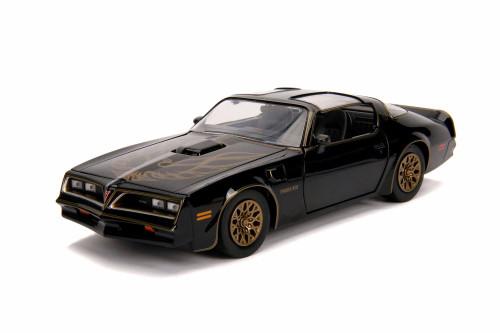 1977 Pontiac Firebird, Smokey and the Bandit - Jada 31105 - 1/24 Scale Diecast Model Toy Car