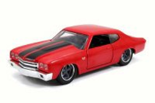 Dom's Chevy Chevelle SS, Red - Jada 97380 - 1/32 Scale Diecast Model Toy Car