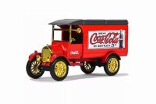 1926 Ford Model TT Delivery Van, Coca-Cola - Motorcity Classics 443026 - 1/43 scale Diecast Model Toy Car