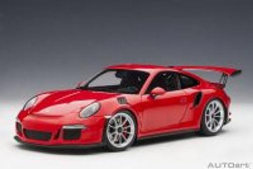 Porsche 911 (991) GT3 RS, Guards Red - Auto Art 78165 - 1/18 Scale Diecast Model Toy Car