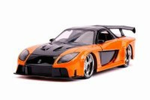 Mazda Rx-7 Hardtop, Fast and Furious - Jada 30732 - 1/24 scale Diecast Model Toy Car