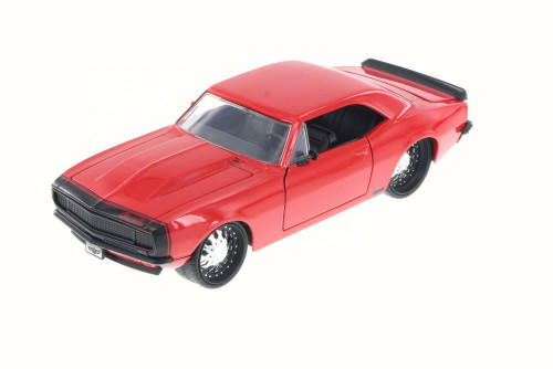 1967 Chevy Camaro, Red - JADA Toys 97171YU - 1/24 Scale Diecast Model Toy Car (Brand New, but NOT IN BOX)