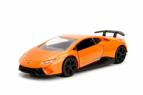 2017 Lamborghini Huracan Performante Hard Top, Orange - Jada 30108DP1 - 1/32 scale Diecast Model Toy Car