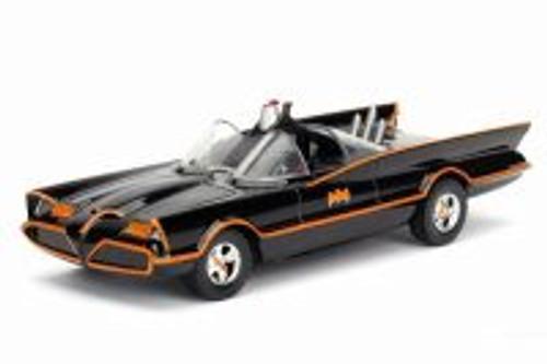 1966 Batmobile, Classic TV Series - Jada 98266DPA - 1/32 scale Diecast Model Toy Car