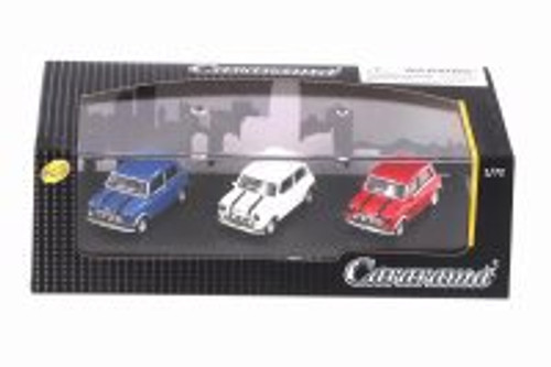 Mini Cooper 3-Car Set, Asstd - Cararama 71310M - 1/72 scale Diecast Model Toy Car
