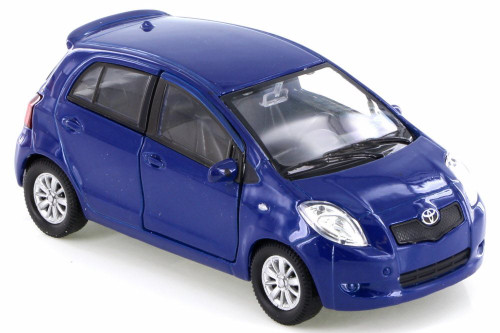 Toyota Yaris, Blue - Welly 42396D - Diecast Model Toy Car