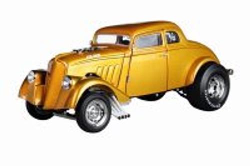 1933 Custom Gasser, Gold - Acme A1800914 - 1/18 scale Diecast Model Toy Car