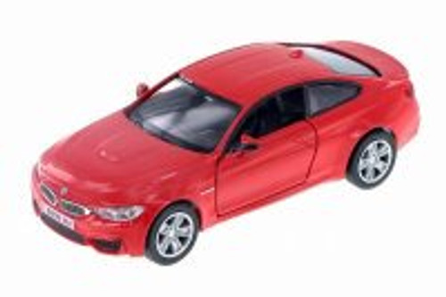 BMW M4 Coupe, Red - RMZ City 555035 - Diecast Model Toy Car