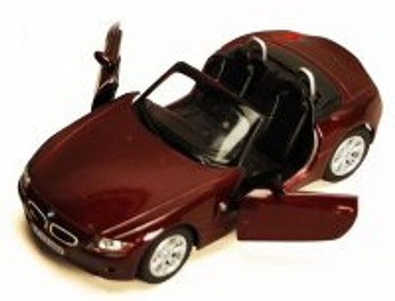 BMW Z4 Coupe Convertible, Ruby - Kinsmart 5318/69D - 1/32 scale Diecast Model Toy Car