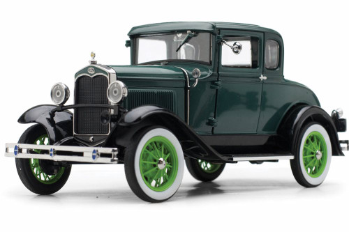 1931 Ford Model A Coupe, Valley Green Vagabond Green - Sun Star 6136GN - 1/18 scale Diecast Model Toy Car