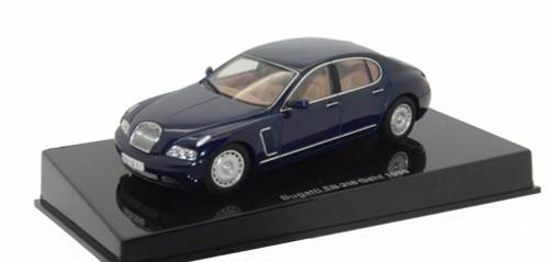 1999 Bugatti Notte Perlato EB 218, Blue - AutoArt 50931 - 1/43 Scale Collectible Diecast Vehicle Replica