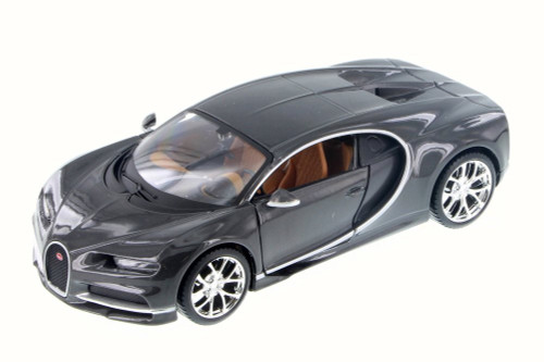 Bugatti Chiron, Gray - Maisto 31514GY - 1/24 Scale Diecast Model Toy Car
