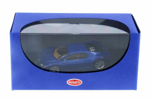 Bugatti Chiron EB 18.3, Blue - AutoArt 50911 - 1/43 Scale Collectible Diecast Vehicle Replica