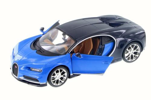 Bugatti Chiron, Blue - Maisto 31514BU - 1/24 Scale Diecast Model Toy Car