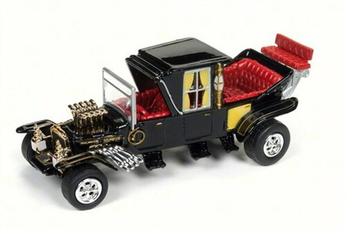 The Barris Koach, Black - Round 2 JLSS002 - 1/64 Scale Diecast Model Toy Car