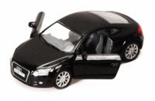 2008 Audi TT Coupe, Black - Kinsmart 5335D - 1/32 scale Diecast Model Toy Car (Brand New, but NOT IN BOX)