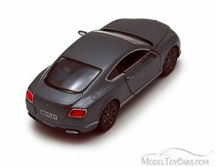 2012 Bentley Continental GT Speed, Gray - Kinsmart 5369D - 1/38 scale Diecast Model Toy Car (Brand New, but NOT IN BOX)