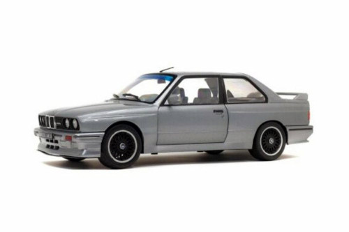 1990 BMW E30 M3 Hardtop, Silver - Solido S1801506 - 1/18 scale Diecast Model Toy Car