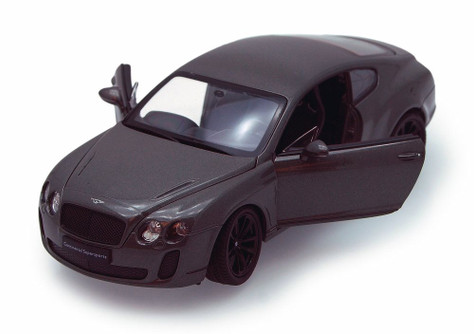 Bentley Continental Hard Top, White - Welly 24018/4D - 1/24 scale diecast model car (Brand New, but NOT IN BOX)
