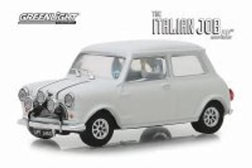1967 Austin Mini Cooper S 1275 MKI, The Italian Job (1969) - Greenlight 86551 - 1/43 scale Diecast Model Toy Car