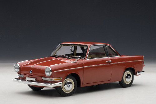 BMW 700, Red - AutoArt 70652 - 1/18 Scale Collectible Diecast Vehicle Replica