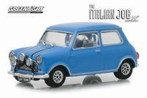 1967 Austin Mini Cooper S 1275 MKI, The Italian Job (1969) - Greenlight 86549 - 1/43 scale Diecast Model Toy Car