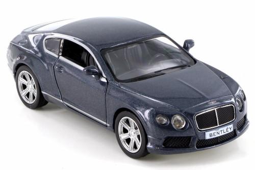 Bentley Contenental GT V8, Gray - RMZ City 555021 - Diecast Model Toy Car