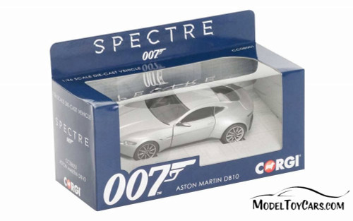 Aston-Martin DB10, James Bond (Spectre) - Corgi CG08001 - 1/36 scale Diecast Model Toy Car