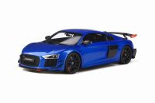 Audi R8 Performance Arts, Blue - GT Spirit GT254 - 1/18 scale Resin Model Toy Car