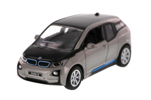 BMW i3, Gray - Kinsmart 5380D - 1/32 Scale Diecast Model Toy Car (Brand New, but NOT IN BOX)