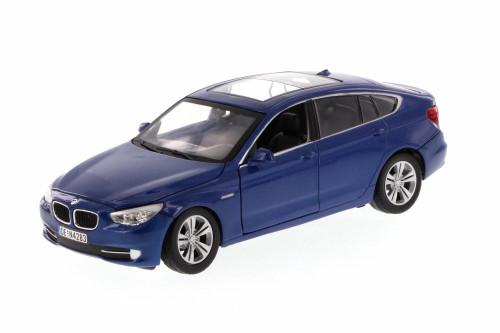 BMW 5 Series GT Hard Top, Blue - Motormax 73352BU/6 - 1/24 scale Diecast Model Toy Car